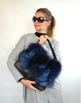 Kožešinové kabelky a tašky