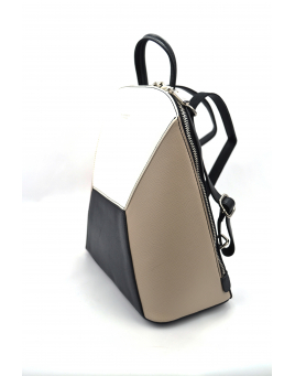 Leatherette backpacks
