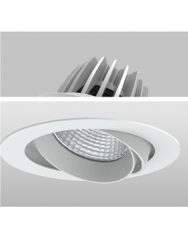 Ceiling recessed downlights
