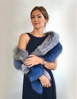 Fur scarfs